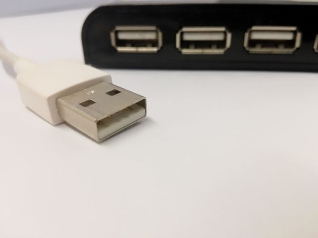 USB cable and connector